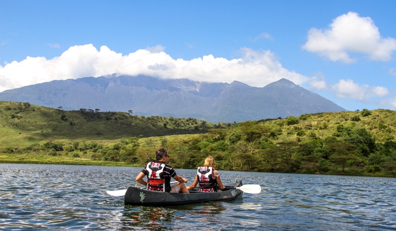 Arusha National Park, active safari