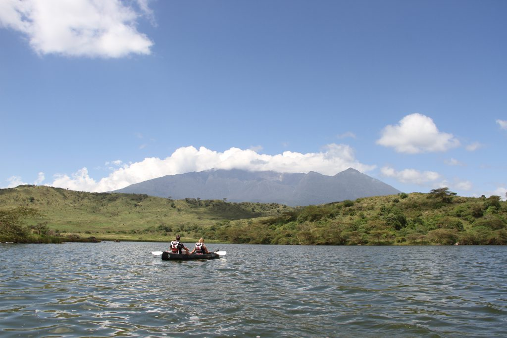 actieve safari in Arusha National Park
